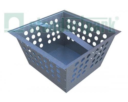 Корзина для дождеприемника-пескоуловителя ДПП-31.33.18-ПП из оцинкованной стали