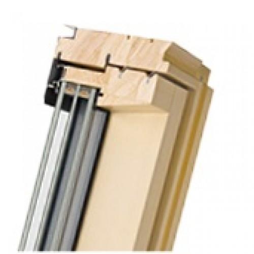 Мансардные деревянные окна Fakro FTT U6 Thermo LUX